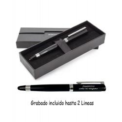 Bolígrafo Pierre Cardin puntero 2 en 1 personalizado con Texto