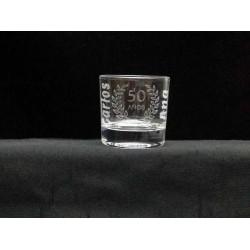 vaso chupito grabado con mi diseño
