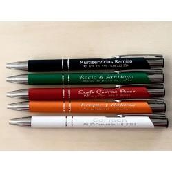 Bolígrafos personalizados...