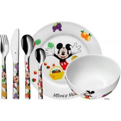 Cubiertos con vajilla Infantil WMF Micky Mouse, Grabados y Personalizados