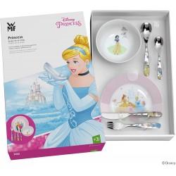 Cubiertos con plato y bol Infantiles WMF Prinsesa Disney, Grabados y Personalizados